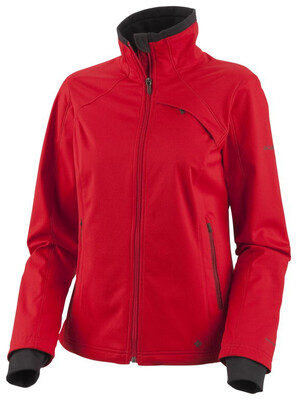 -35% Rabatt Columbia Women's Landlash Softshell Jacket cherrybomb 2012 M rot Outdoorbekleidung Outdoorjacke Softshell Jacke M -35% Rabatt
